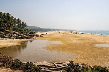 De stranden van Kovalam van Martijn Mureau