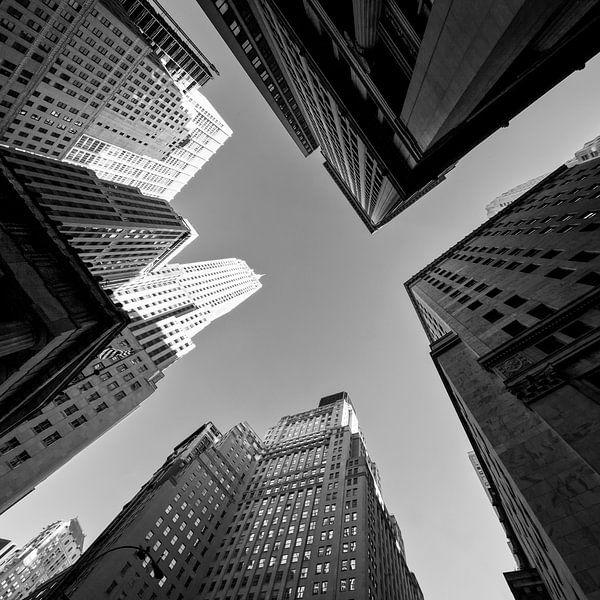 New York Hoogbouw (Zwart-Wit) van Jean-Paul Wagemakers