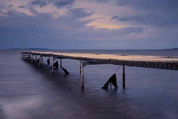 Gerüste im Meer von Pieter de Kramer