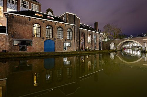 Voormalige bierbrouwerij De Boog aan de Oudegracht in Utrecht von Donker Utrecht