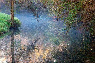 Herfst natuur reflecties van Peter de Kievith Fotografie