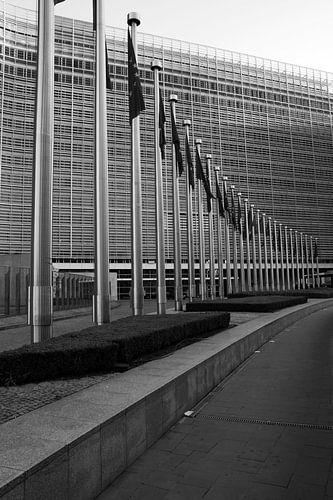 Berlaymont building van
