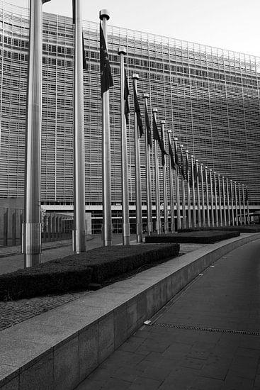Berlaymont building van HP Fotografie