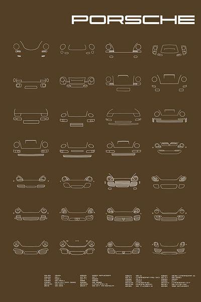 Porsches van Otof Fotografie