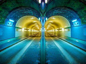 Hambourg: deux tubes de l'ancien tunnel de l'Elbe #2