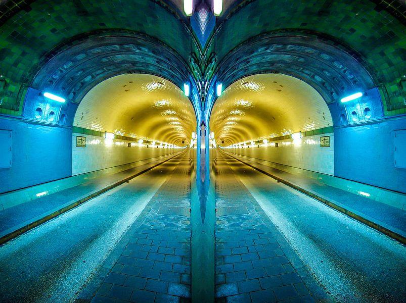 Hambourg: deux tubes de l'ancien tunnel de l'Elbe #2 sur Norbert Sülzner