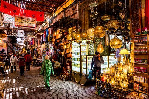 Arabische markt  van Ton de Koning