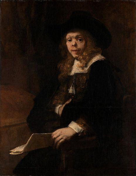 Portret van Gerard de Lairesse, Rembrandt van Rembrandt van Rijn