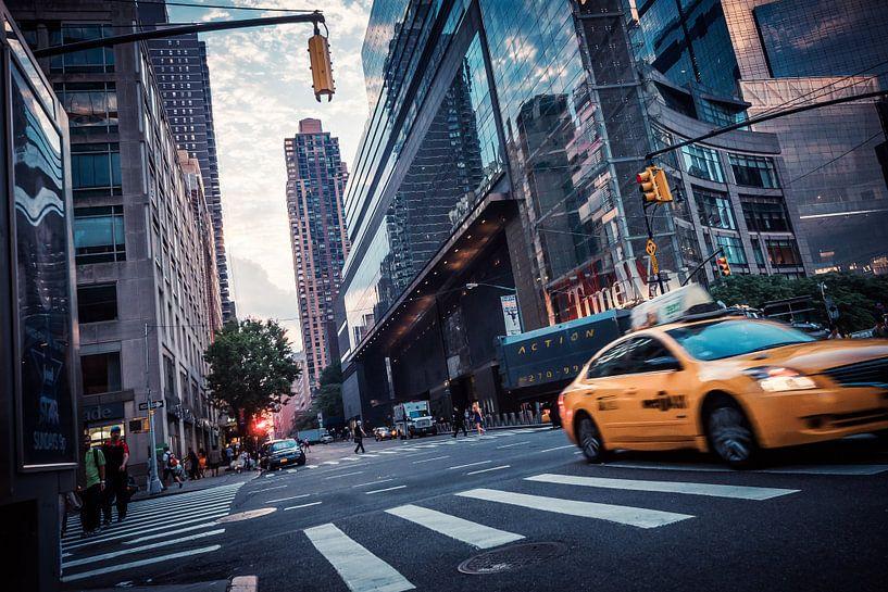 Streets of New York van Alexander Voss