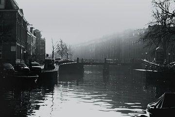 Prinsengracht Amsterdam von Marianna Pobedimova