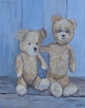 Teddybeer van Mieke Daenen