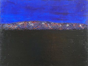 # 47, Acryl auf Leinwand, 60 x 80 cm  van Erich Keller