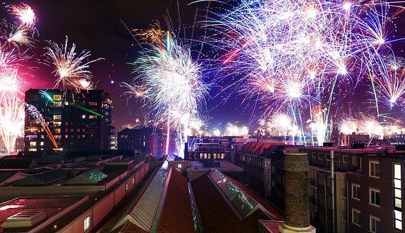 Amsterdam New Year van Dennis van de Water