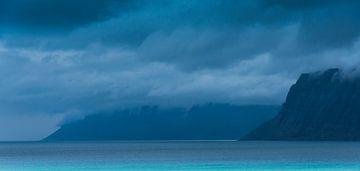 Vestfjord Iceland von Piet de Winter