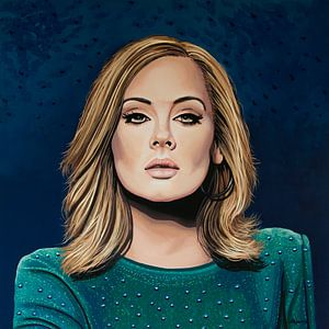 Adele Schilderij 3
