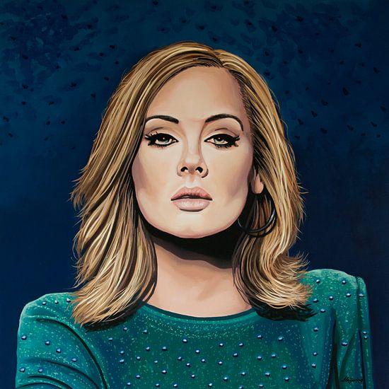 Adele Schilderij 3 van Paul Meijering