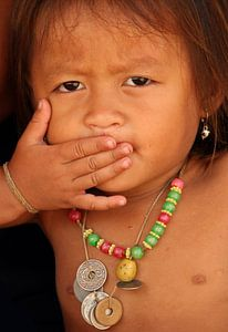 Little child in Laos