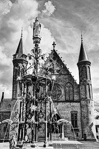 Innenstadt von Den Haag Niederlande