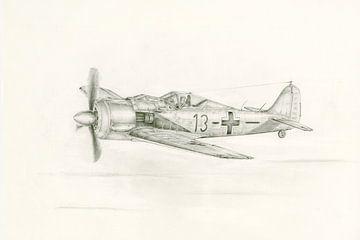 Focke Wulf FW -190 von Frank Vos