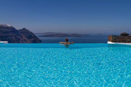 Santorini Infinity Pool I