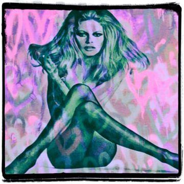 Motiv Brigitte Portrait Bardot Sexy - Frame 01 von Felix von Altersheim