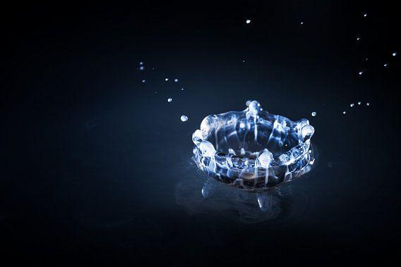 Blauwe kroon