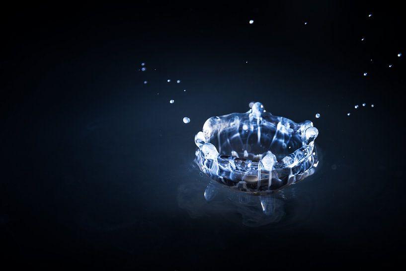 Blauwe kroon van Dennis van de Water