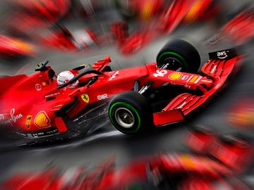 Charles Leclerc - Ferrari F1 van DeVerviers