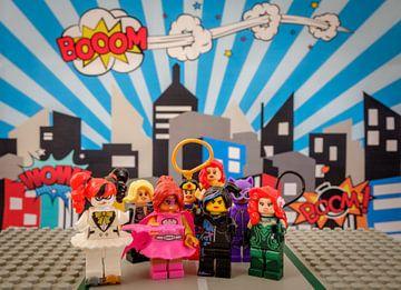 Superheroes Lego von Marco van den Arend