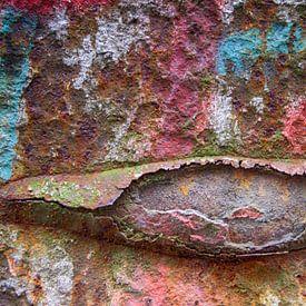 Kleurrijk roest, Landschaftspark Duisburg-Nord Duitsland van Watze D. de Haan