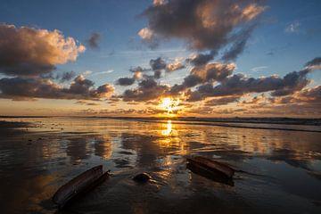 Sunset op Terschelling von Foto van Anno