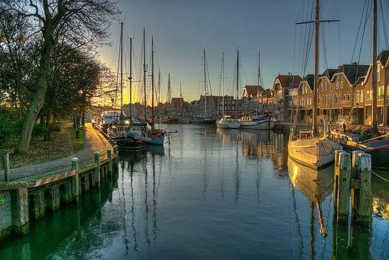 Binnenhaven in Hoorn