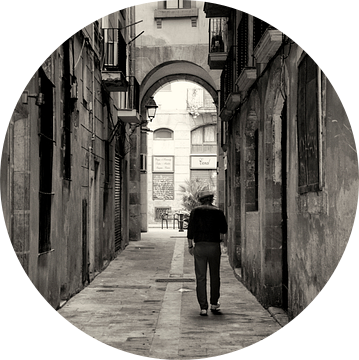Streets of Barcelona van VanEis Fotografie