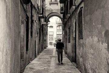 Streets of Barcelona von VanEis Fotografie