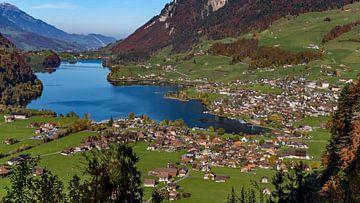 Ansicht von Lungern, Schweiz von Adelheid Smitt