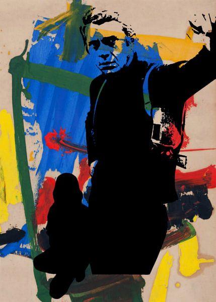 Thema Steve McQueen - Abstracte Game Deel 2 - is Bullitt van Felix von Altersheim