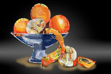 Sinaasappelen, zonder verpakking van Ruud van Koningsbrugge