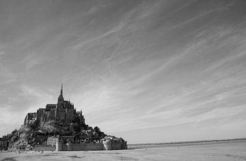 Vue du Mont St Michel sur Mariëlle Verhoef