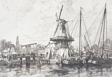 Blick auf Haarlem, Maxime François Antoine Lalanne