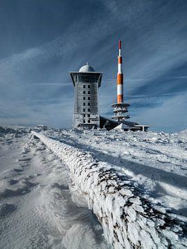 De antenne op de Brocken van Marc-Sven Kirsch