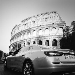 Maserati & het Colosseum van Erminio Fancel