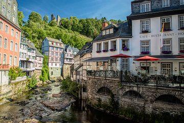 Monchau stad van ColorsofNaturePhotography Jeanet Groenewoud