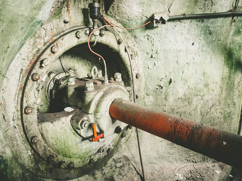 Urbex-Wasserkraftwerk von Martijn Tilroe