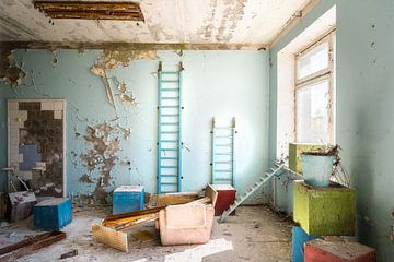Verlassenes Krankenhaus 126. von Roman Robroek