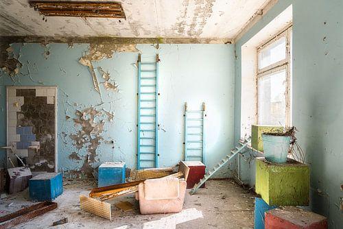 Verlaten Ziekenhuis 126. van Roman Robroek