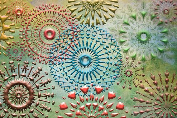 Collage mandala