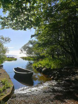 Ein Boot am See von Lars Tuchel