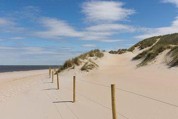 Het Strand in Ouddorp van Charlene van Koesveld