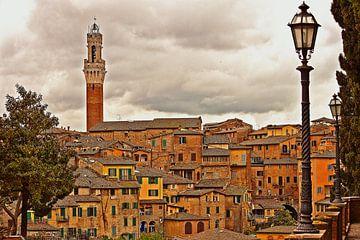 Siena: Torre del Mangia van Kees Maas