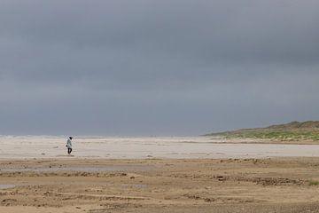 Eindeloos turen over stranden van Ton Tolboom